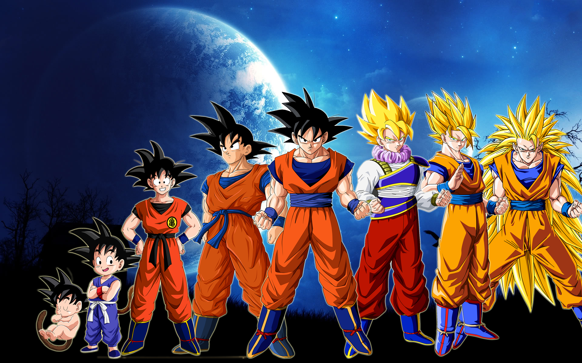 Dragon ball z kami to kami wakarimasen - Dragon ball z goku son ...
