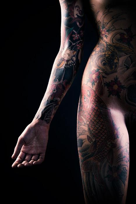 Le tatouage japonais (Maj)