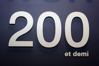 200 et demi